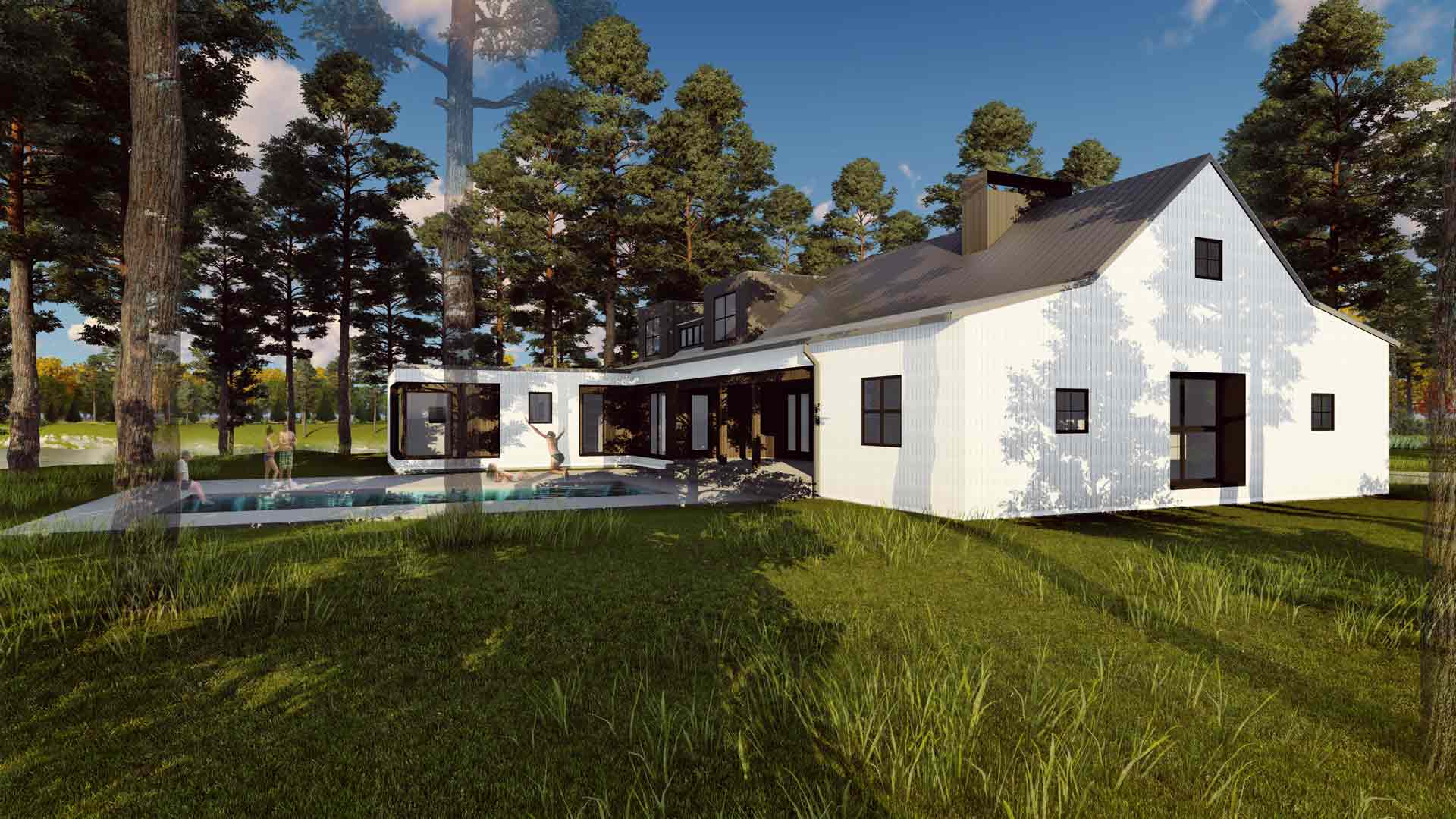 New Modern Farmhouse 3 HAUS Architecture