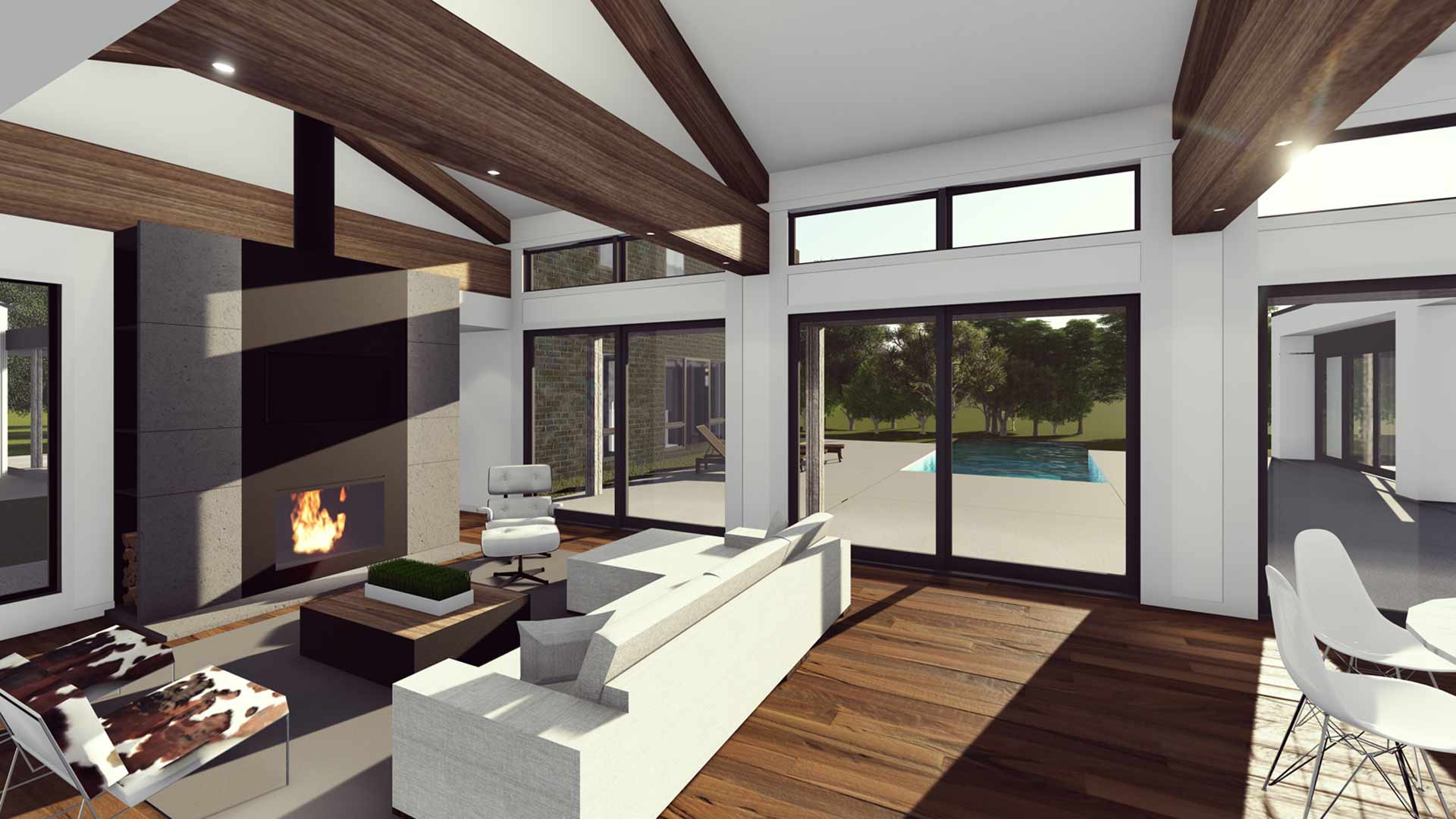 New Modern House Ditch  HAUS  Architecture For Modern Lifestyles