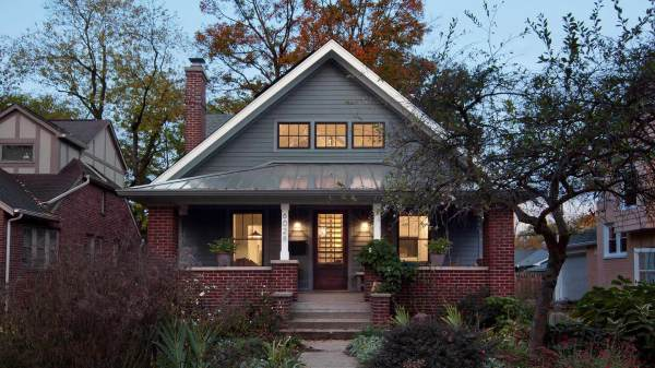 Broad Ripple Modern Craftsman Haus Architecture