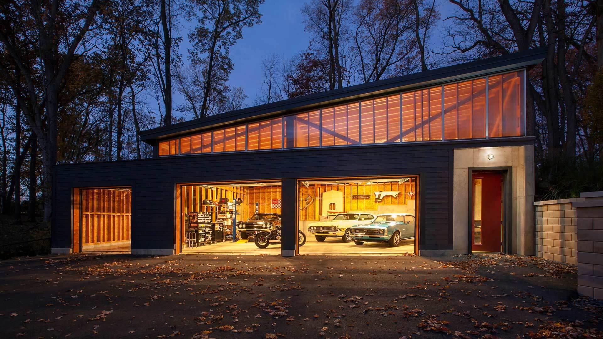 Vintage Modern Garage Haus Architecture For Modern Lifestyles