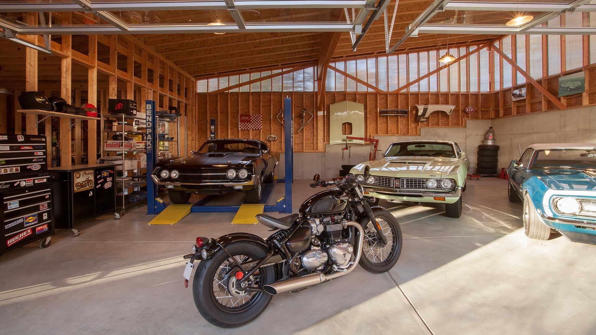 Car Workshop Wallpapers Vintage Modern Garage Haus Architecture For Modern