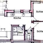 Grundriss Wohnung 4-6