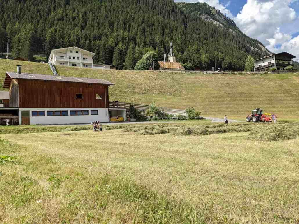 Landwirtschaft, Schwadern, Haus Thomas