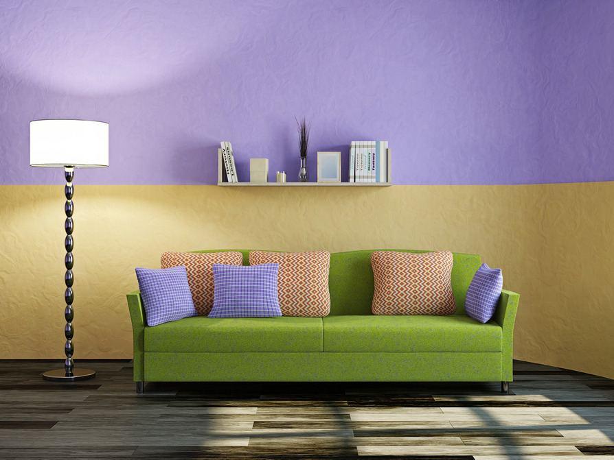 Wohnzimmer mit Grün einrichten