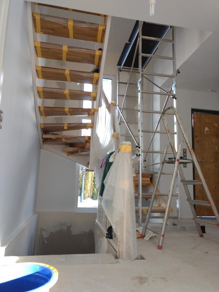 treppe streichen gerüst | gebrauchte gerüste modultreppe treppen