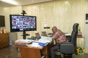 The Meeting Is Being Held Virtually - President Nana Addo 1
