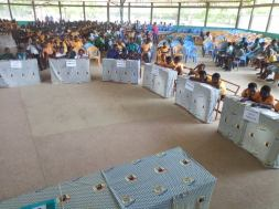South Tomgu District inter-Circuits Literacy contest