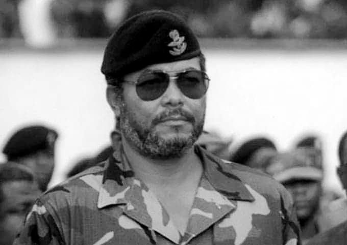 black Thursday for the entire African continent! RIP JJ Rawlings Raised fist