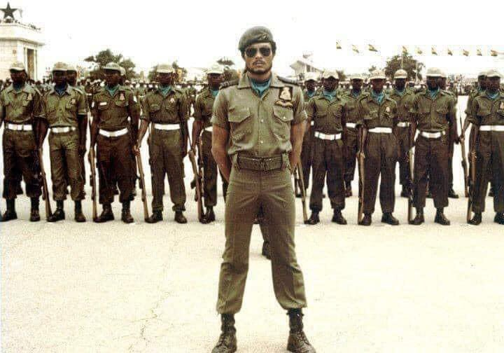 What a shock! 2020 is such a terrible year! RIP JJ Rawlings, Papa J, former president of Ghana