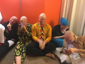 albinism experience in various areas