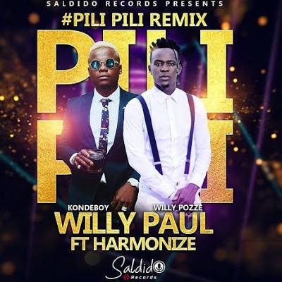 Willy Paul - PiliPili Ft. Harmonize Audio MP3 download 1