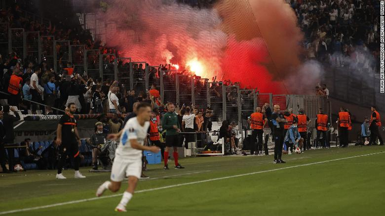 Europa League Fixtures Are Once Again Hampered By Crowd Disturbance
