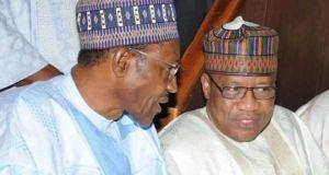 President Muhammadu Buhari And Janar Ibrahim Badamasi Babangida