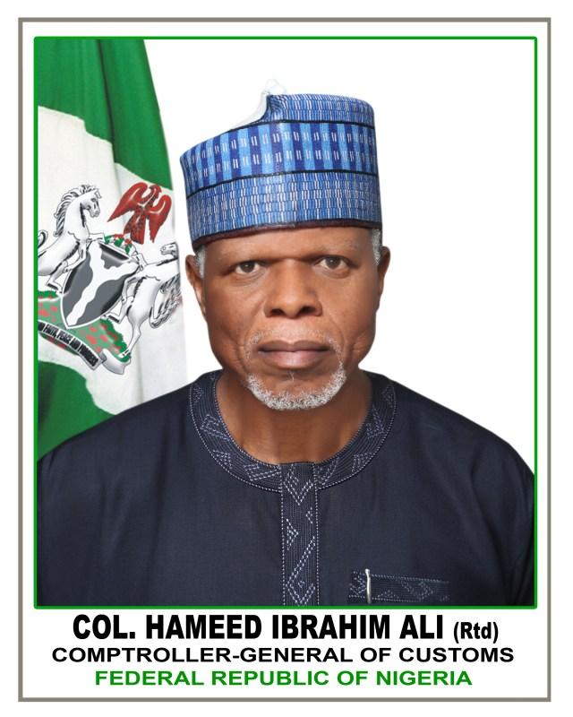 Shugaban hukumar yaki da fasa-kwauri ta Nijeriya Kanar Hameed Ali