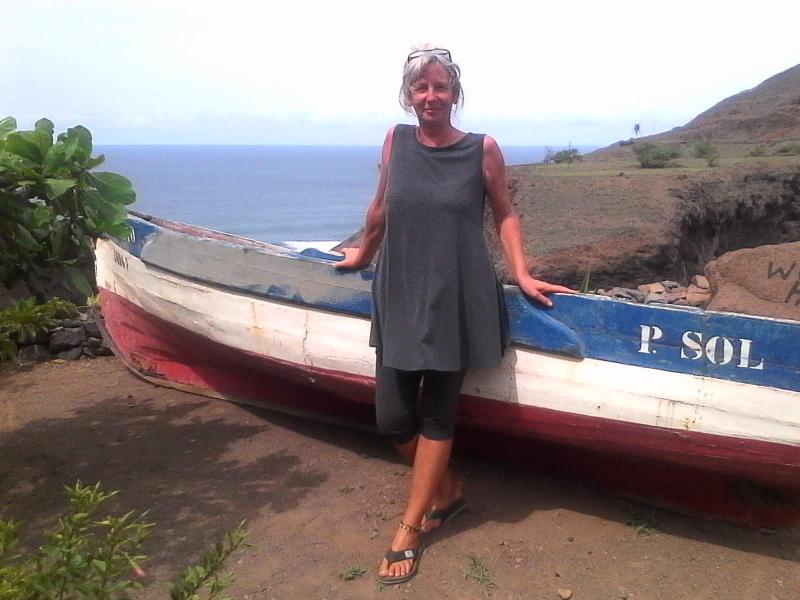 Um pouco mais de Cabo Verde na casa a caminho