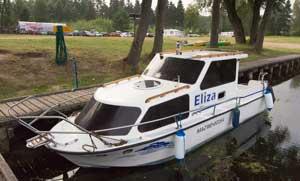 Hausboot Masuren