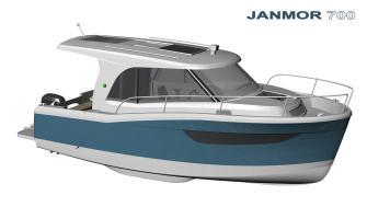 Janmor 700 Hausboot Masuren Urlaub