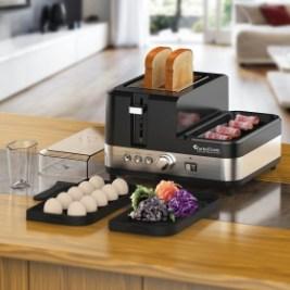 TurboTronic Toaster mit Eierkocher