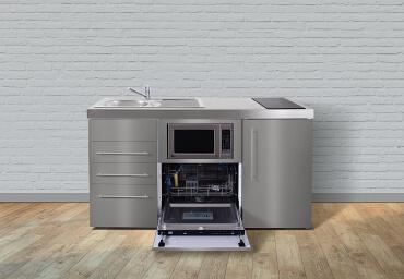 Miniküche Mit Kühlschrank Und Mikrowelle : Miniküchen mit kühlschrank frisch stengel pantryküche mp mit
