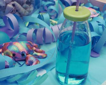 Unterwasserparty-Wasser