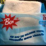 バンコクのコンビニで買える 「冷たいおしぼり」