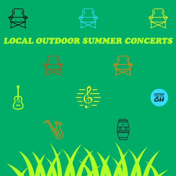 2020 Summer Outdoor Concerts in Dayton and Springfield, Ohio