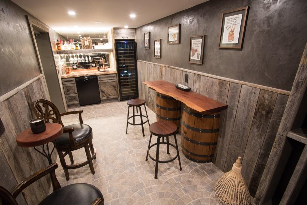 HIdden bourbon room in home