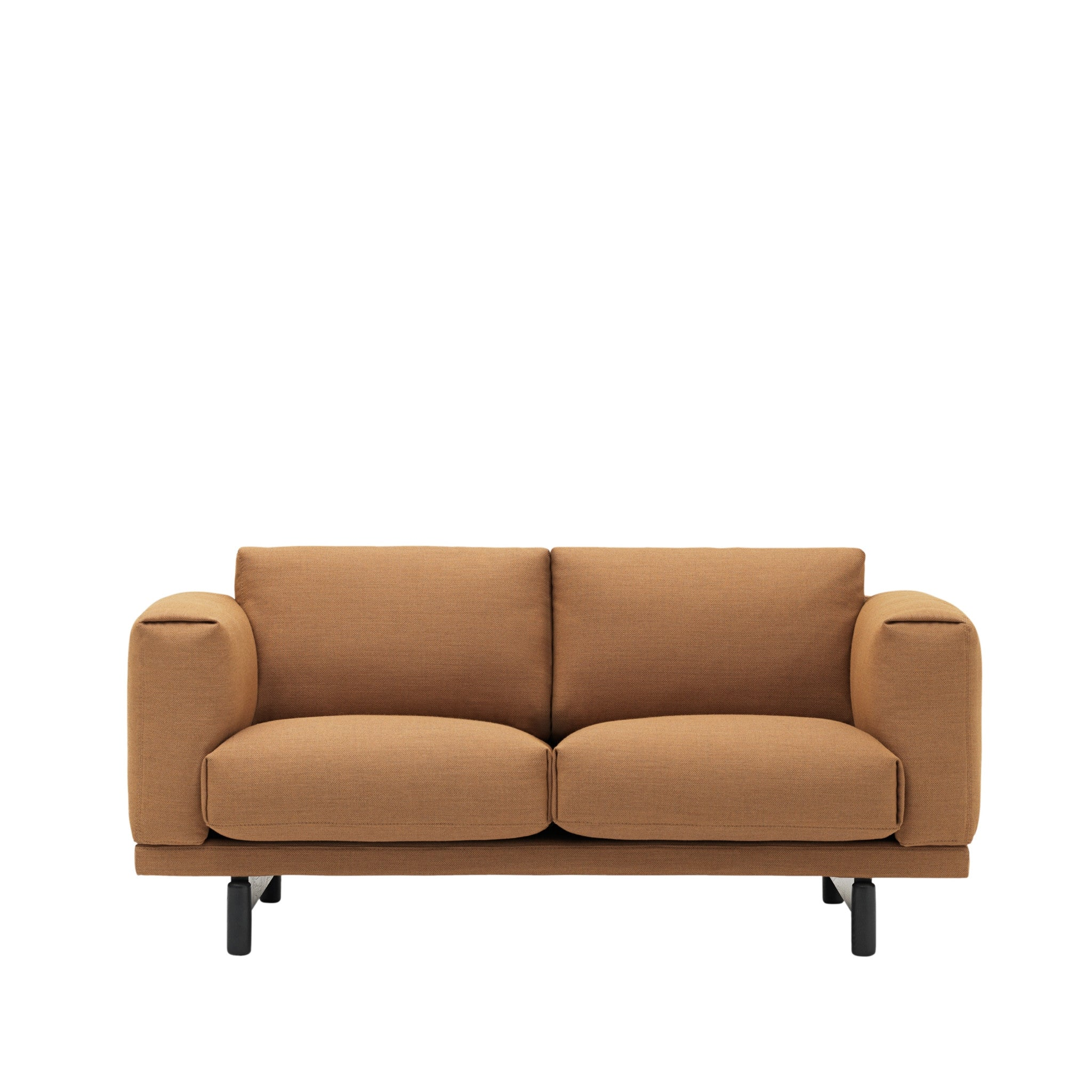 muuto sofa bed leather tapestry rest studio by  haus