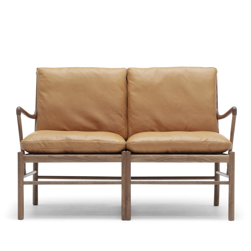 colonial wingback sofas sofa bed furniture village haus ow149 2 by ole wanscher