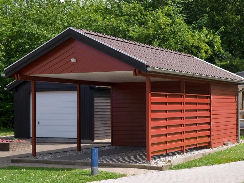 Carport Preise  Die Kosten Für Die Offene Garage