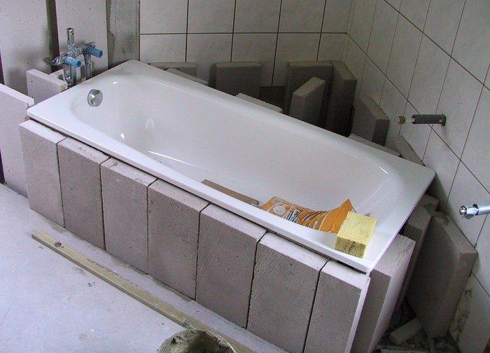Badewanne setzen - So setzen Sie fachgerecht Ihre neue Badewanne