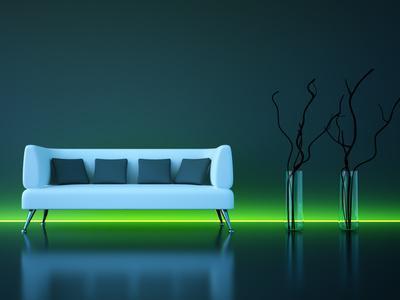 Indirekte Beleuchtung mit LED Lampen selber bauen