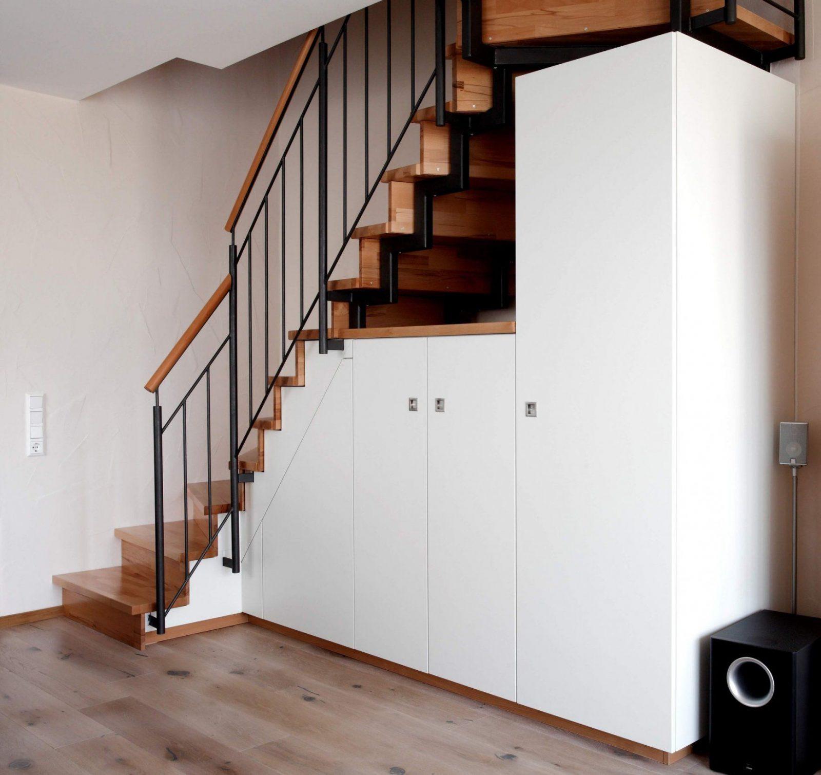 Regal Unter Der Treppe  Haus Design Ideen