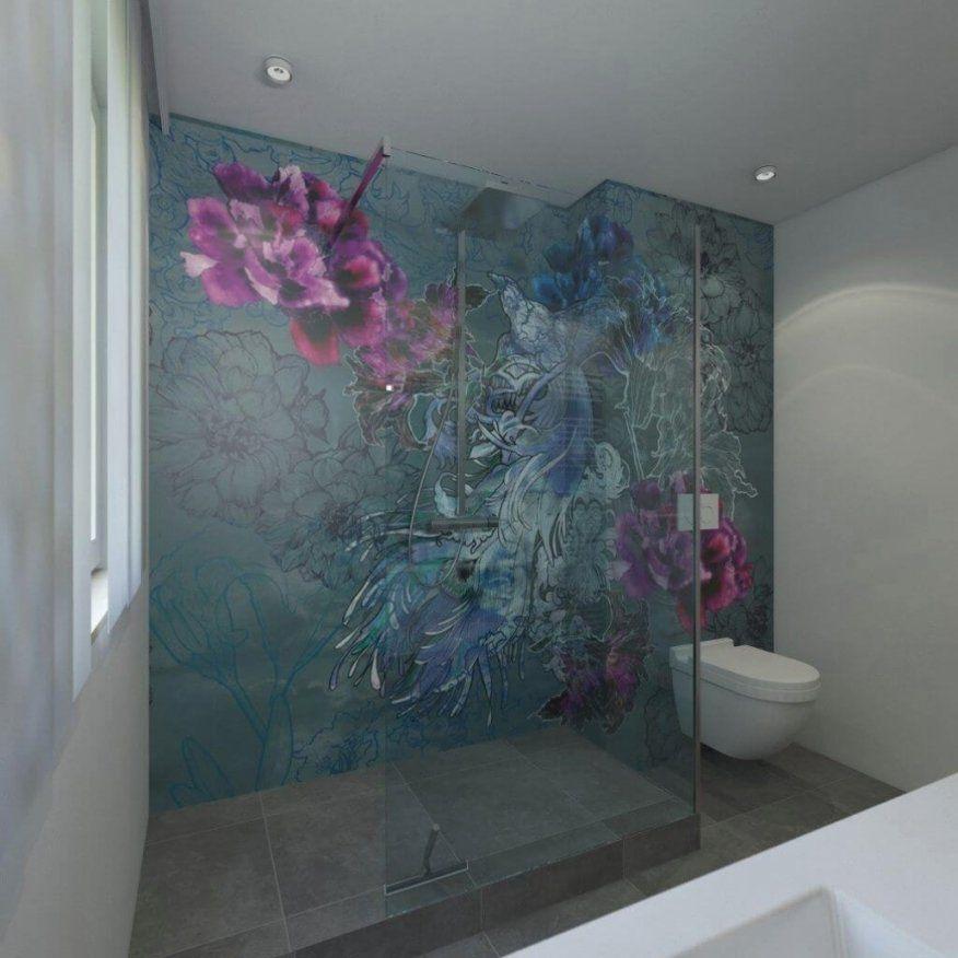 Tapete Im Badezimmer  Wandtapeten Als Kreative