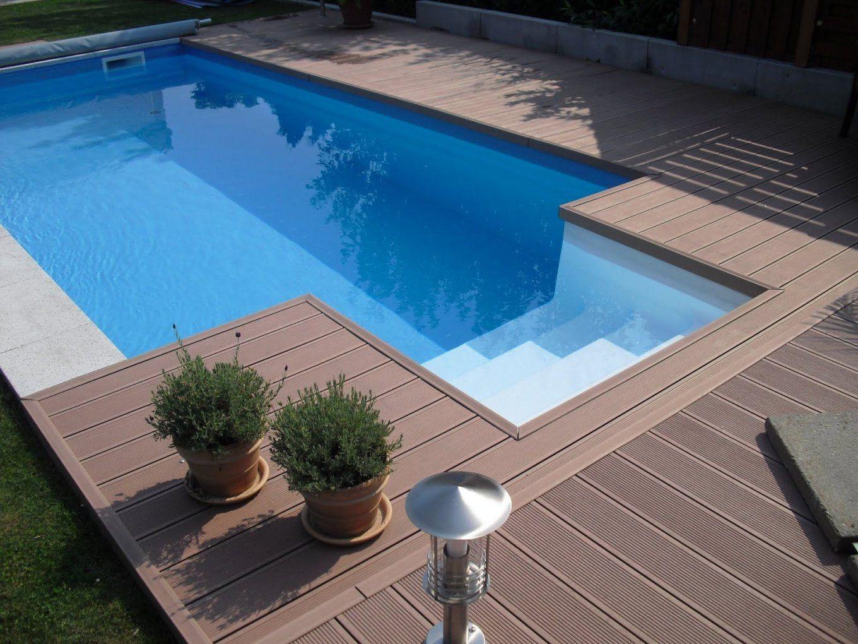 Pool Selber Bauen Paletten Anleitung Gartenliege Sonnendeck Beim von Pool Podest Selber Bauen