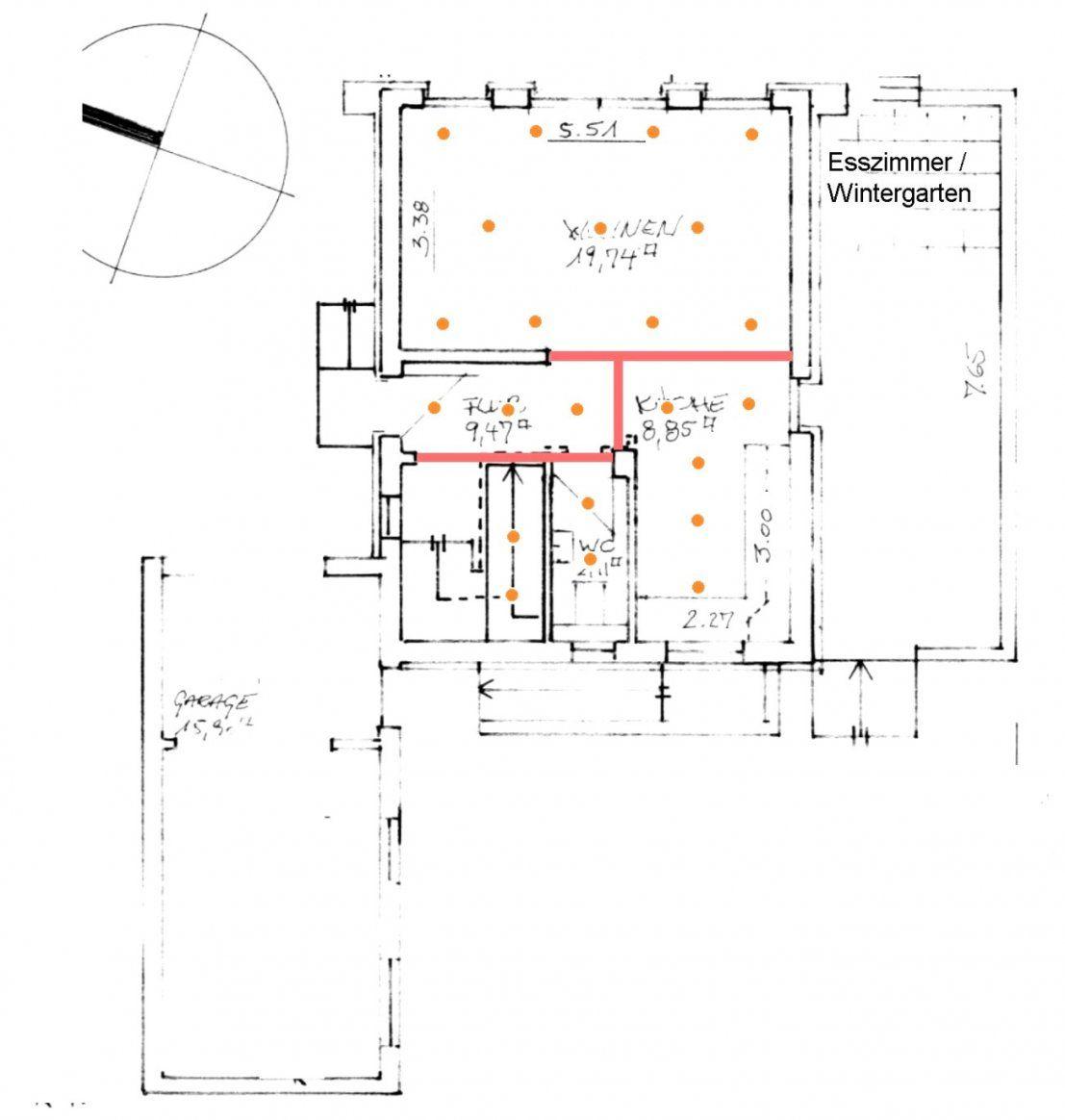 Led Einbaustrahler Abstand Küche Deckenspots Aufteilung Küche