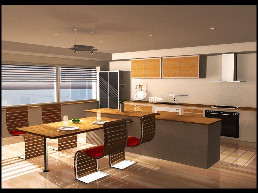 Küche Kochinsel Mit Esstisch   Miniküche Von Ikea   [schÖner Wohnen]