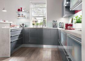 Küchen In U Form Kuche Planen Ideen Und Tipps Kuchen Klein ...