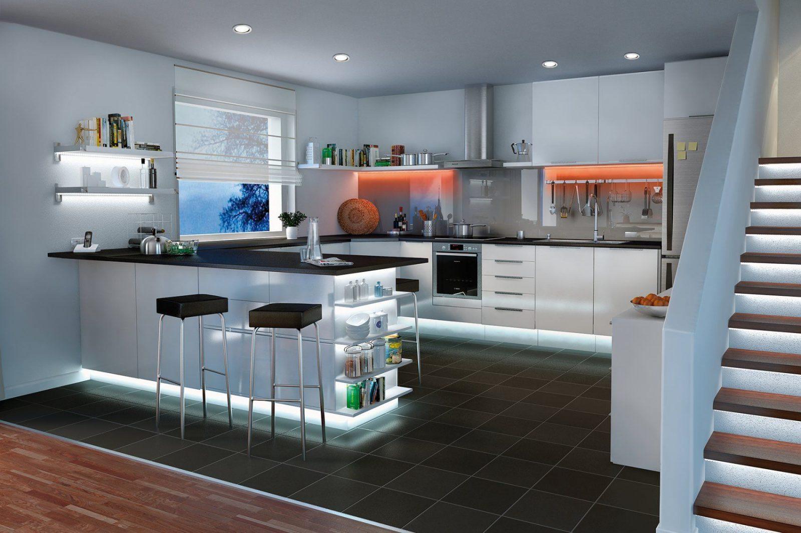 Led Spots Decke Kche  Haus Design Ideen
