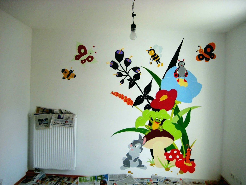 Babyzimmer Wände Gestalten Diy Wandgestaltung Einfach Aber