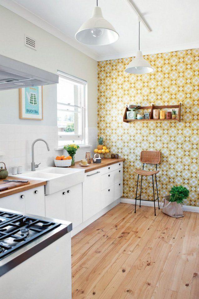 Selbstklebende Tapete Für Küchenrückwand | Küchenrückwand ...