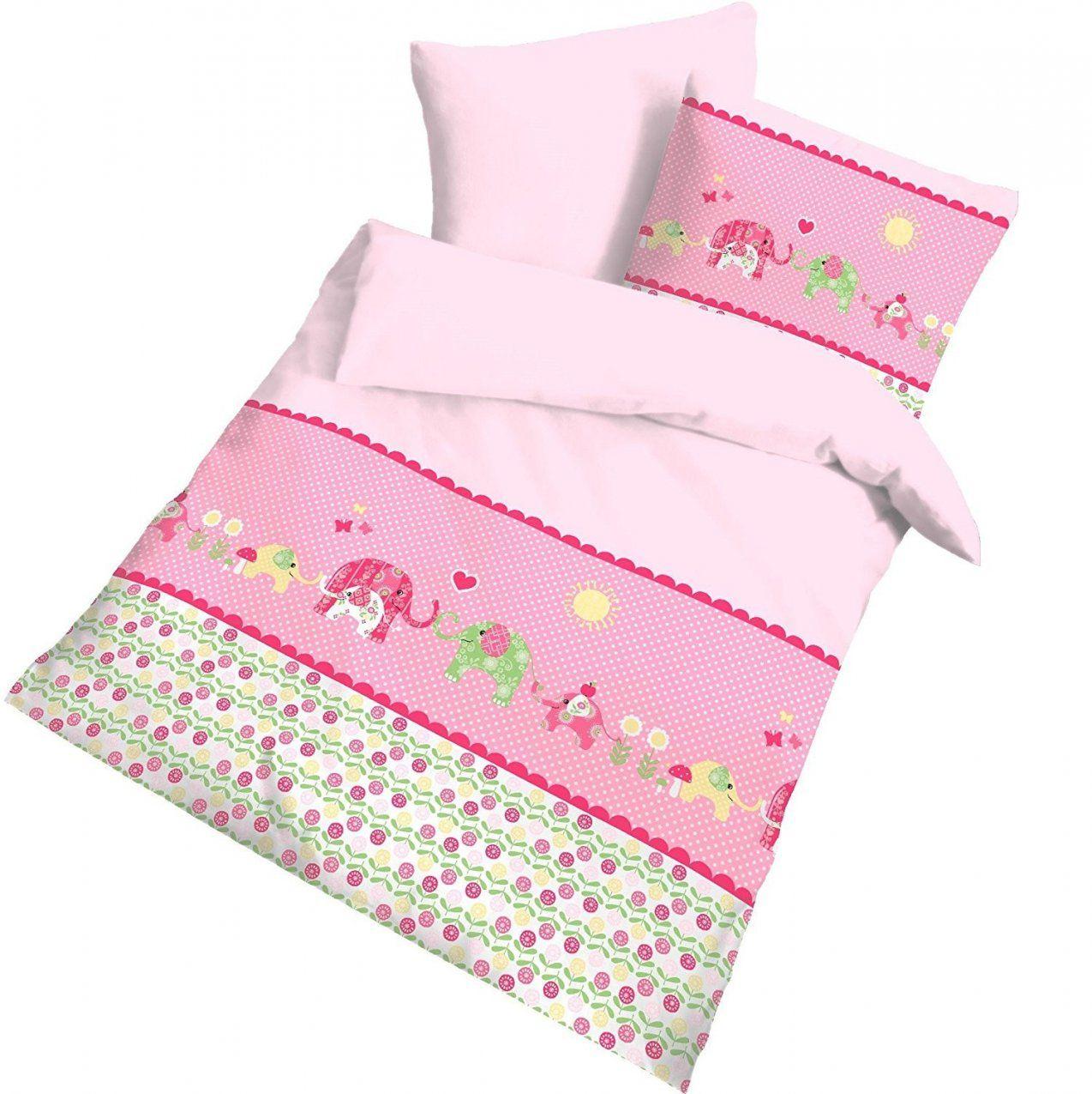Bettwäsche 135x200 Mädchen Kinderbettwäsche Pferde Biber 135x200