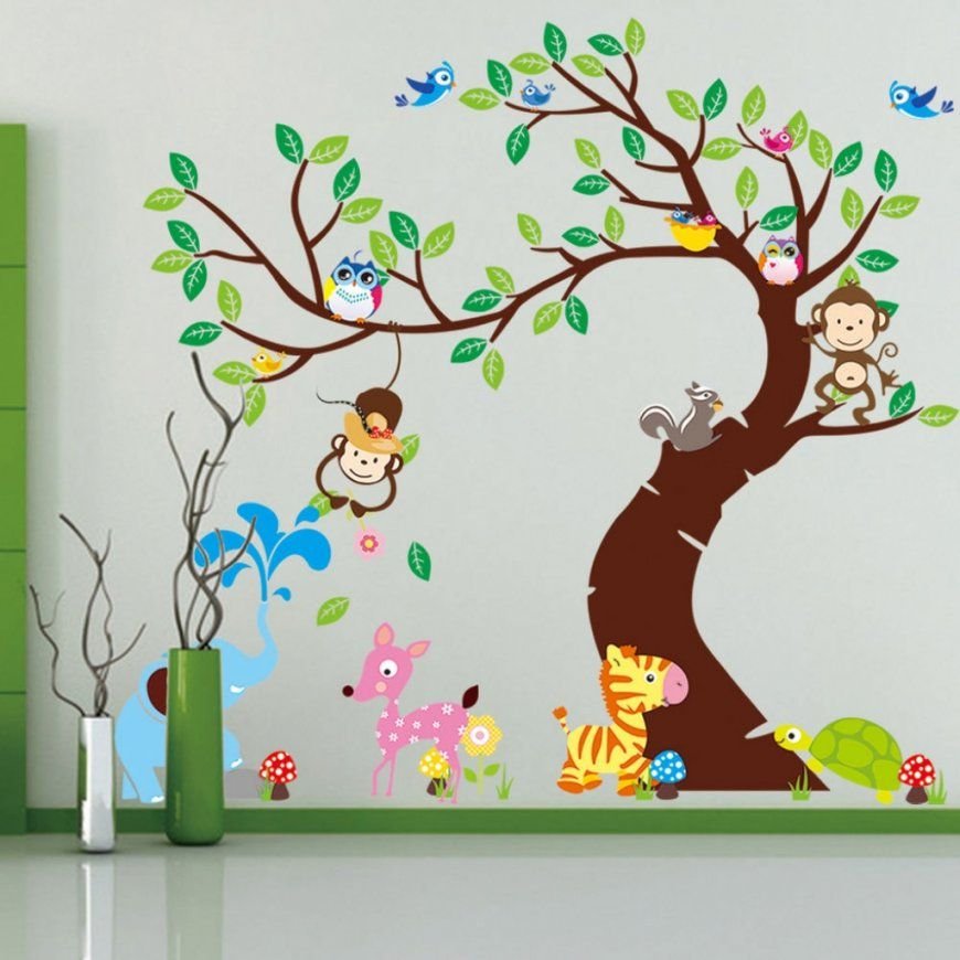 Babyzimmer Wände Gestalten Malen Motiv Vorlagen Haus
