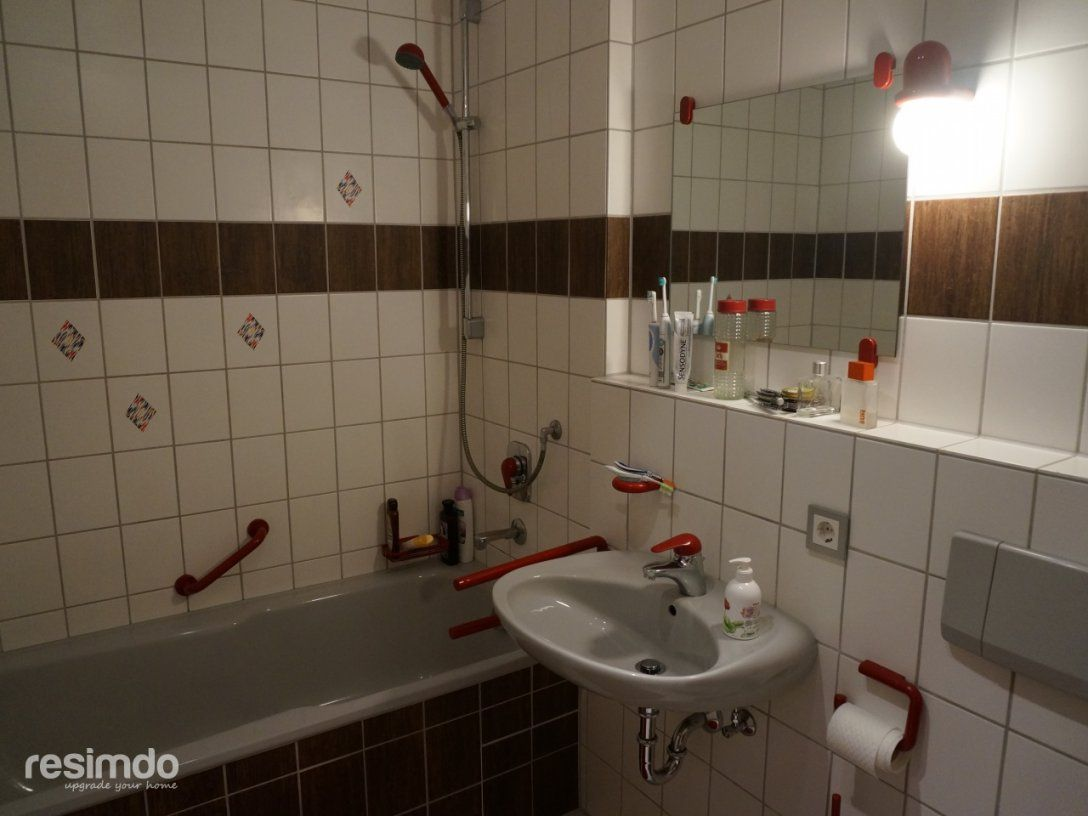 Hassliche Badezimmer Fliesen Verschonern Hassliche Bodenfliesen