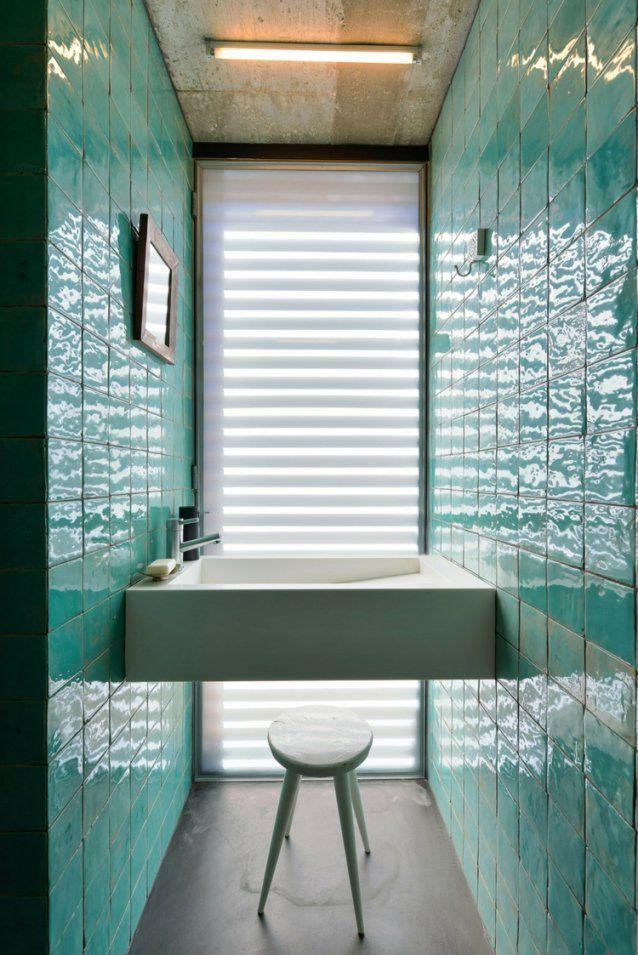 Mosaik Fliesen Bad Trkis  Haus Design Ideen