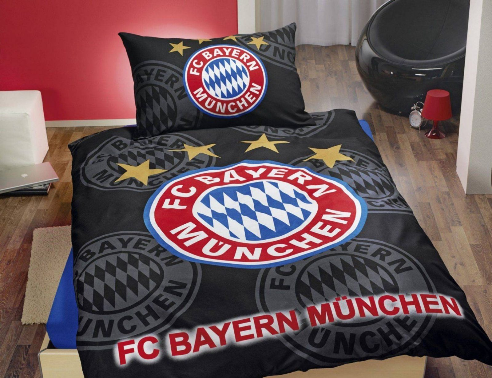 Bayern München Bettwäsche Fc Bayern München Bettwäsche Rot Weiß