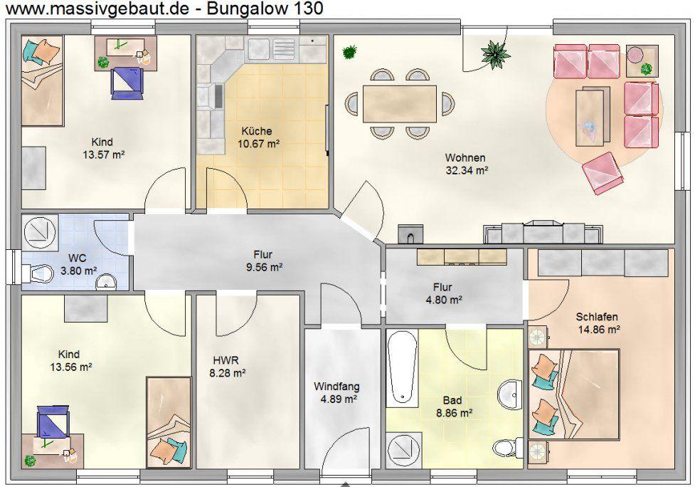 Bungalow 160 Qm Grundriss von Grundriss Bungalow 160 Qm Photo  Haus Design Ideen