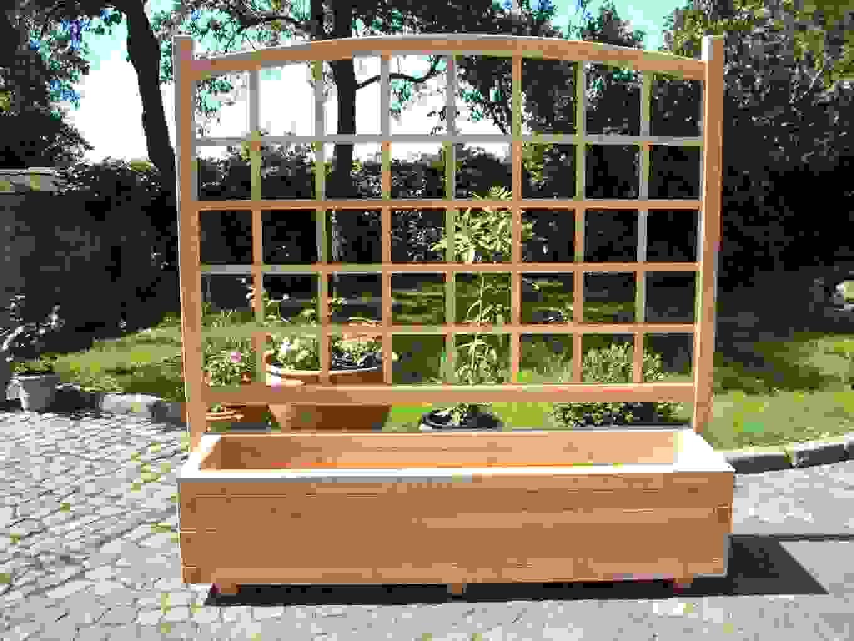 Blumenkasten Mit Rankhilfe Selber Bauen Besten Kasten Bilder