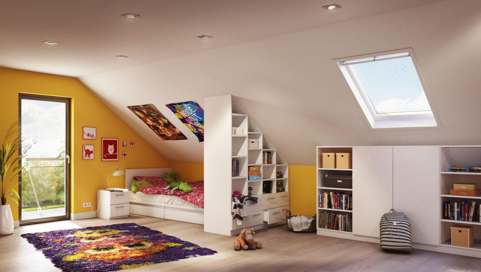 Einrichtungsideen Dachschrage Schone Kinderzimmer Bilder