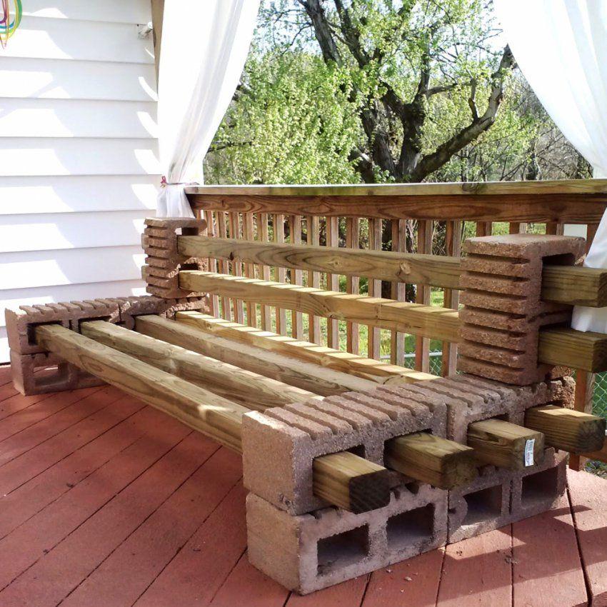 Balkon Aus Holz Selber Bauen  Haus Design Ideen